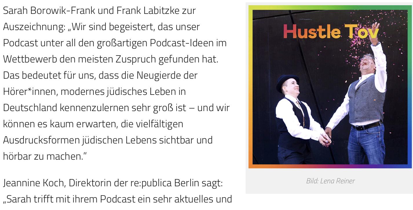 Screenshot Radiowoche