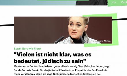 Interview mit Sarah im Deutschlandfunk — Update zum Podcast